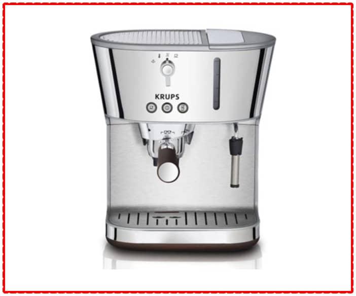 KRUPS XP4600 Silver Art Collection Pump Espresso Machine