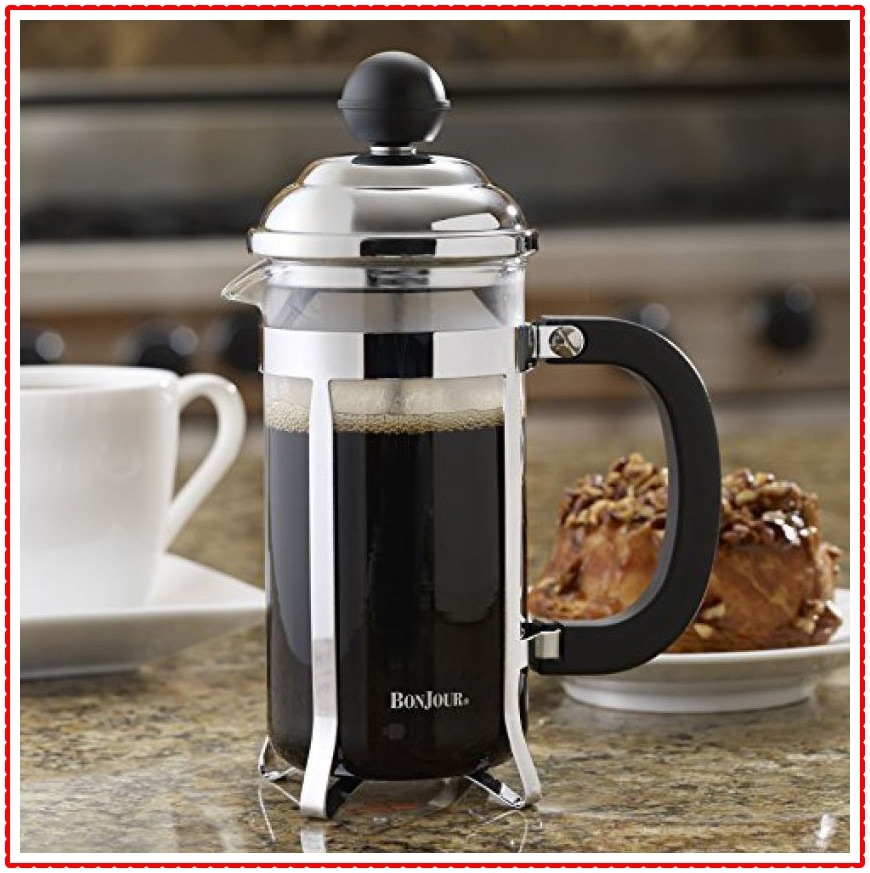 BonJour Coffee Stainless Steel French Press