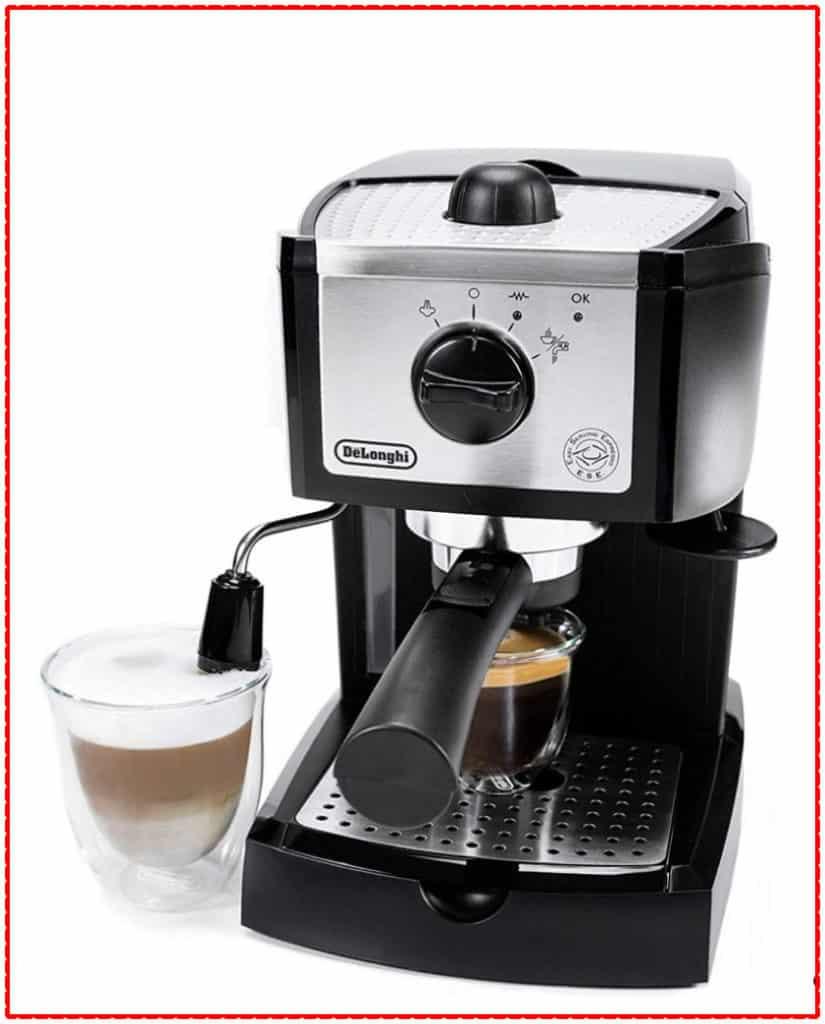 De'Longhi EC155 espresso machine