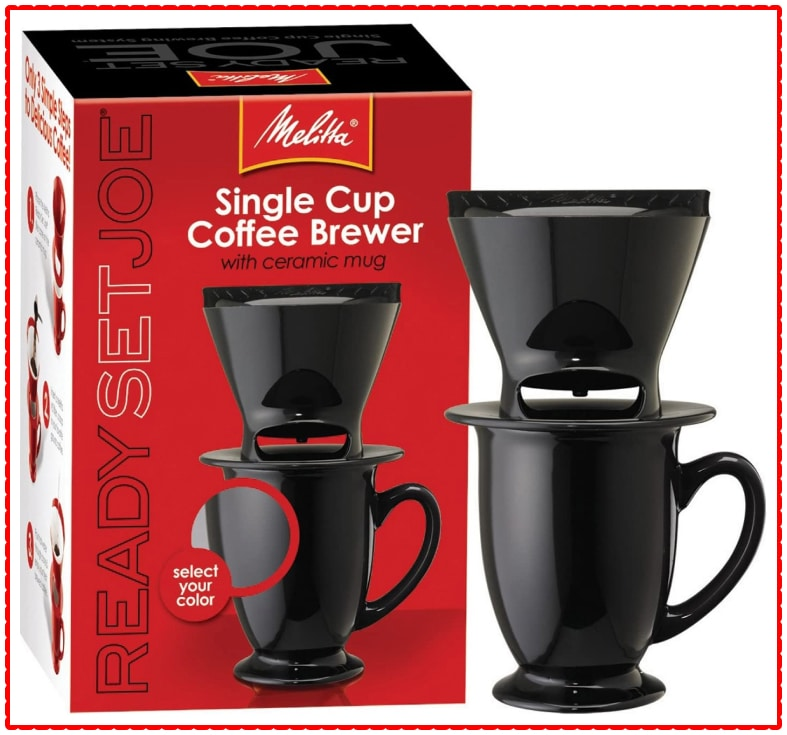 Melitta Ready Set Joe Coffee Brewer Black
