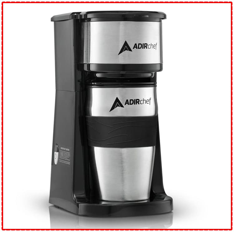 ADIRCHEF GRAB N' GO SINGLE SERVE COFFEE MAKER