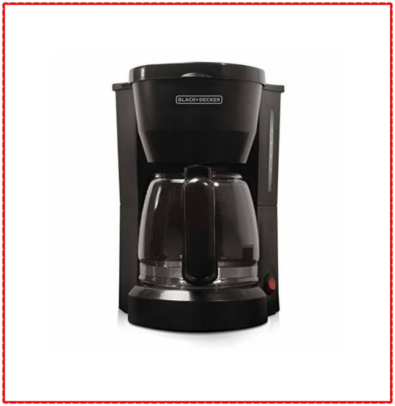BLACK+DECKER 5-Cup Coffee Machine