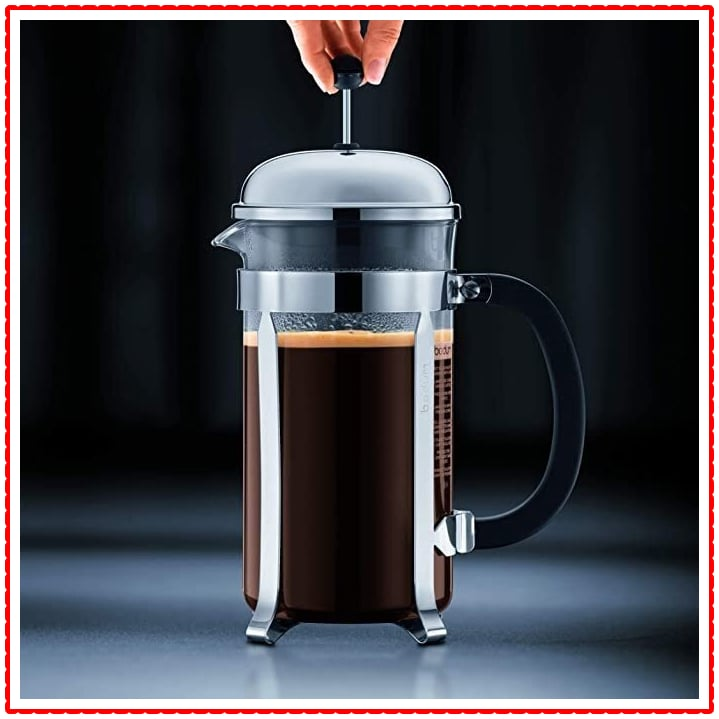 French Press Coffee Brewing Method