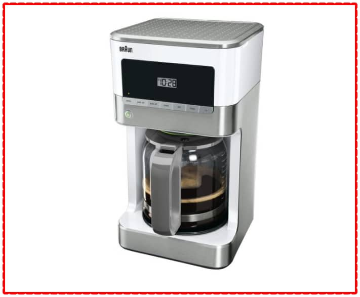 Braun Drip KF6050WH BrewSense Coffee Maker