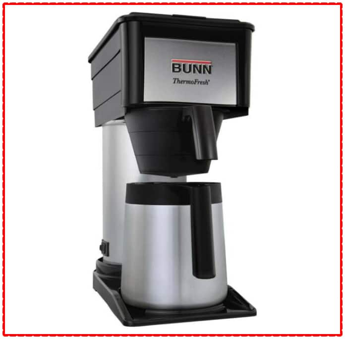 BUNN Coffee Maker  Velocity Thermal Carafe Brewer