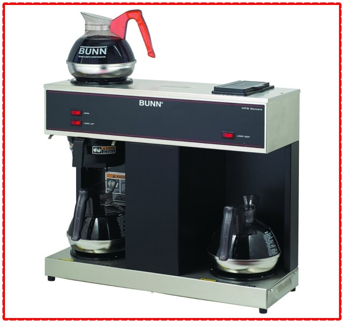 Bunn VPS 3 Warmer 12-Cup Brewer