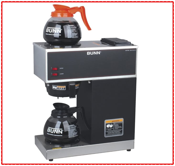 BUNN VPR-2GD Pour-over Brewer