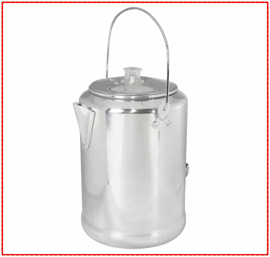 Aluminum Stansport Camping Coffee Maker