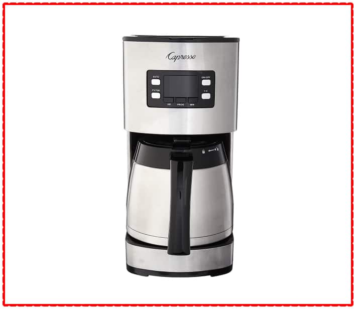 Capresso 435.05 Stainless Steel 10 Cup Thermal Coffee Maker