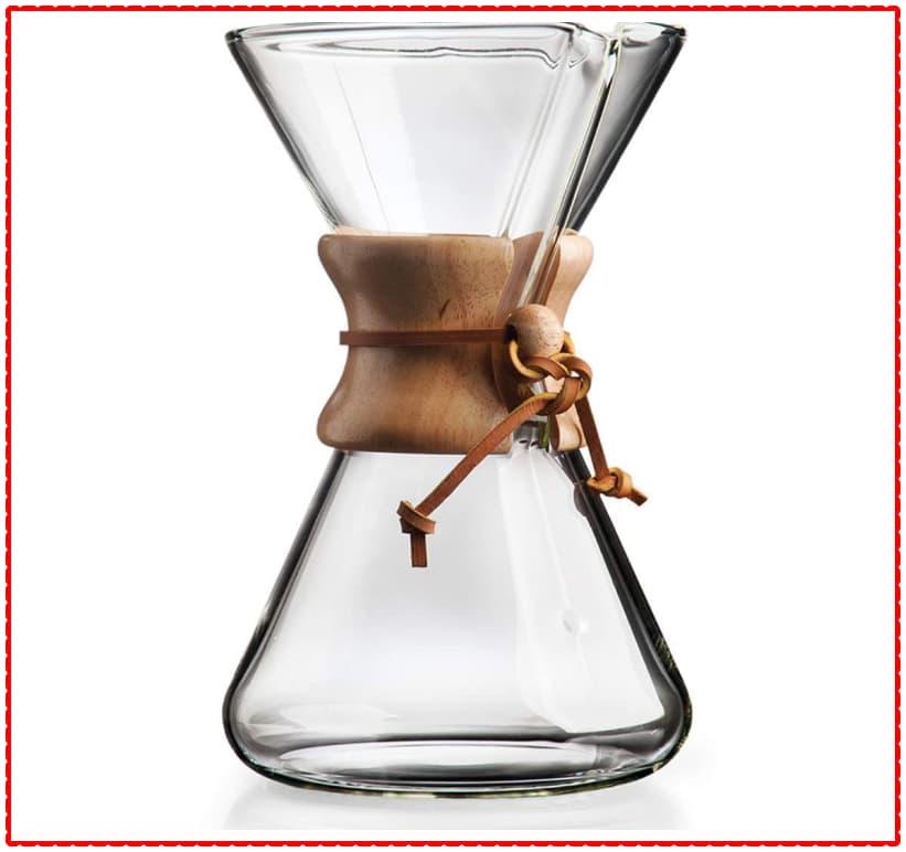 Chemex coffee brewing method