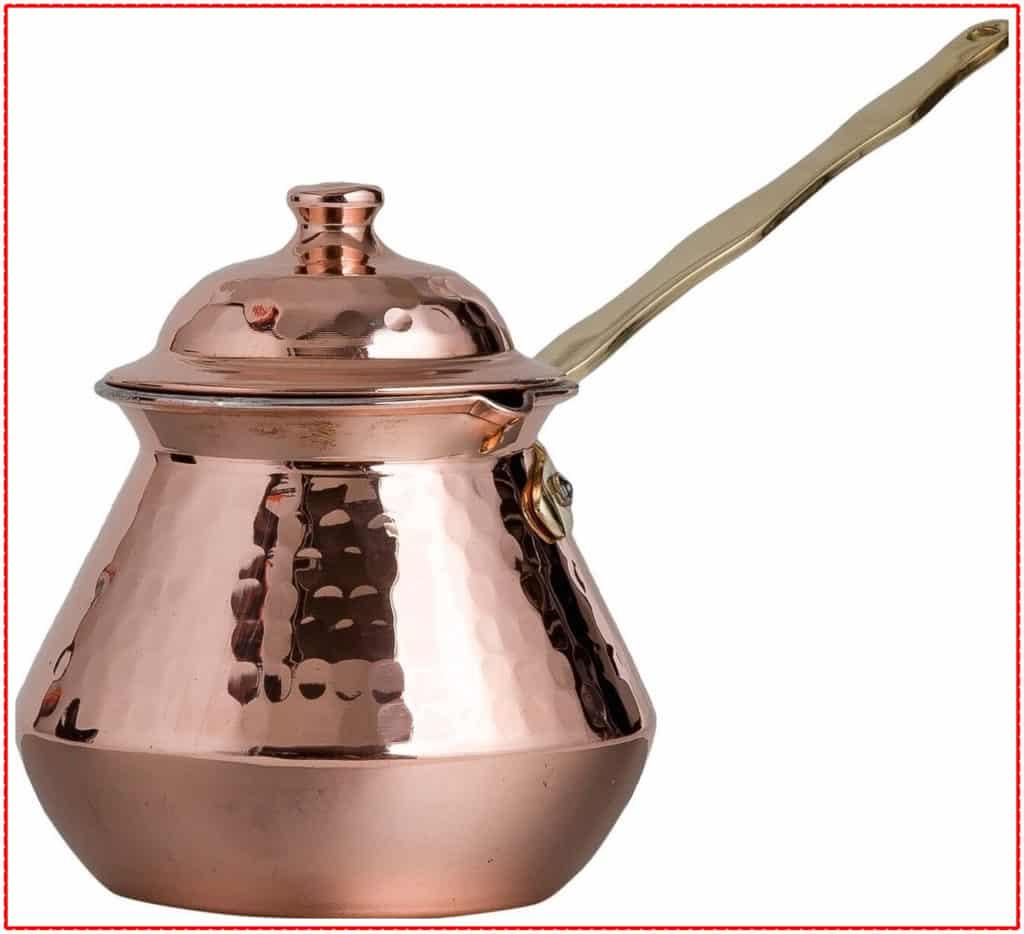 CopperBull Gorgeous Coffee Pot Ibrik Brik