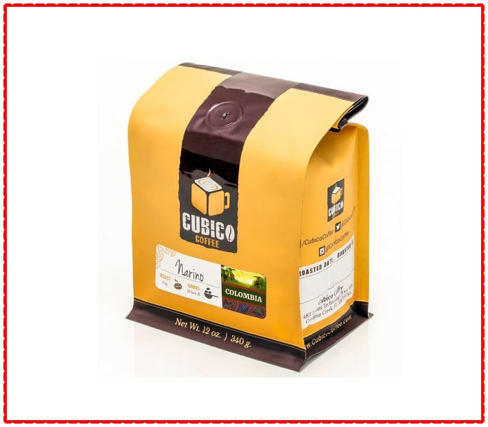 Cubico Colombian coffee beans