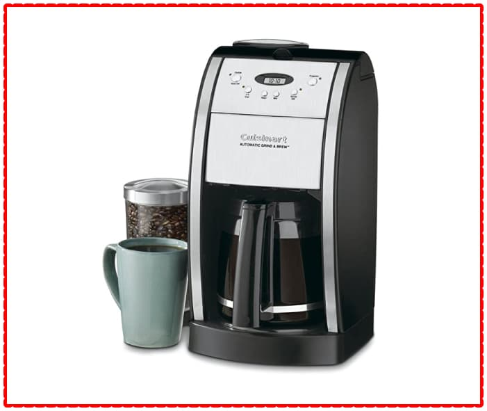 DGN-550BK Cuisinart Grind and Brew Coffee Maker