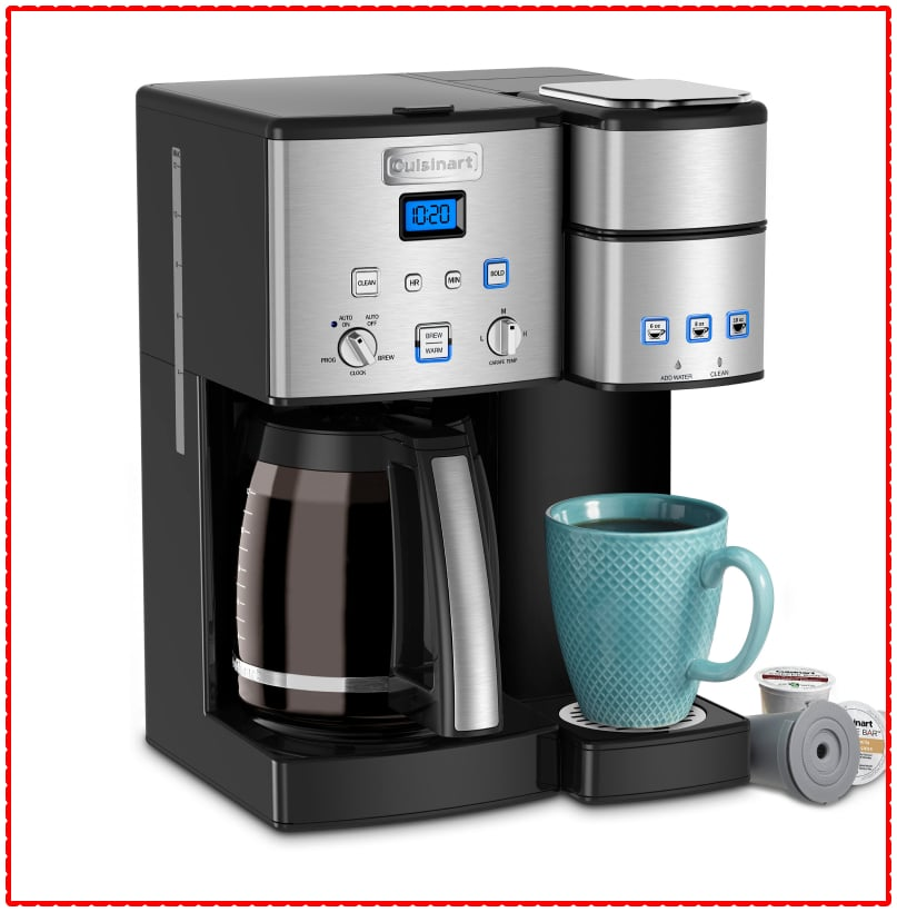 Cuisinart Coffee Center 12-Cup Coffeemaker and Single-Serve Brewer (SS-15P1)