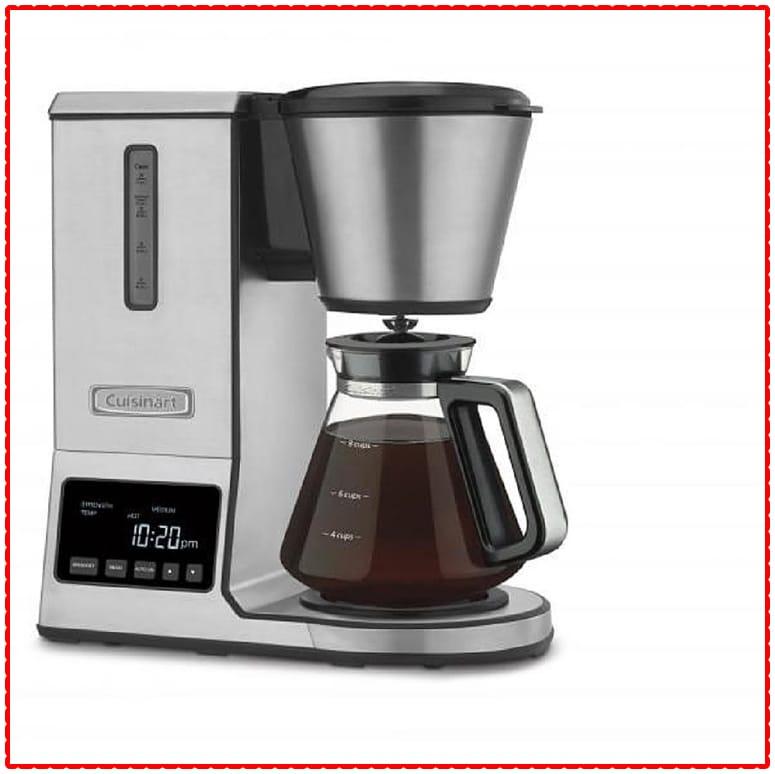 Cuisinart PurePrecision 8 Cup Pour-Over Coffee Brewer (CPO-800P1)