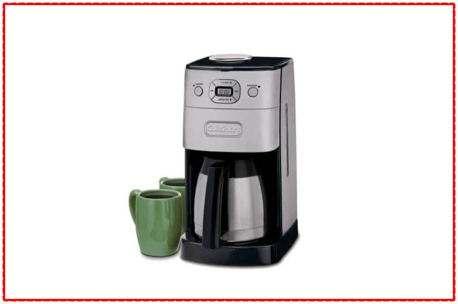 Cuisinart Grind & Brew Thermal™ 10 Cup Automatic Coffeemaker (DGB-650BC)