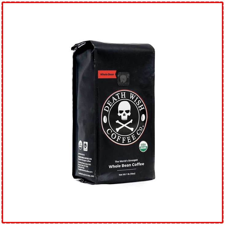 Death Wish Coffee Whole Bean Coffee