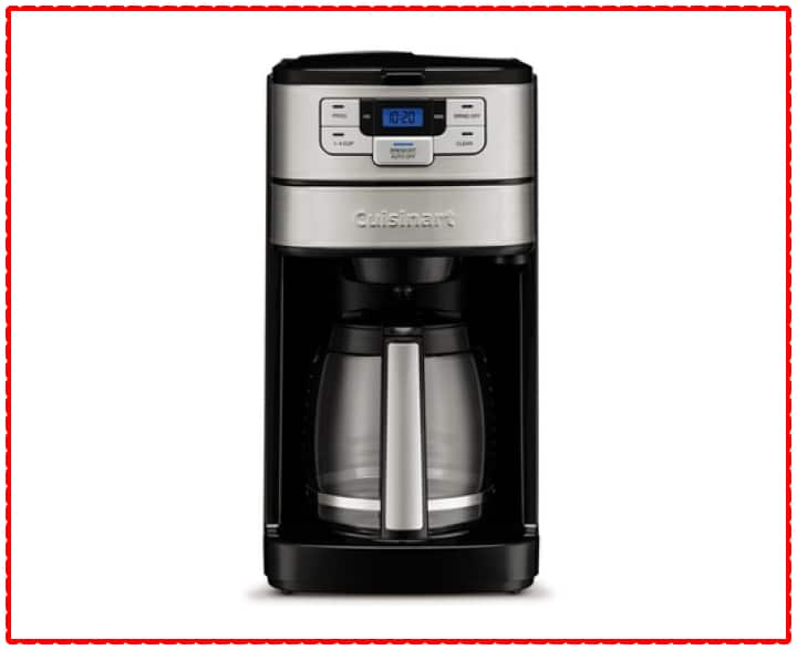 Cuisinart Automatic Grind & Brew 12-Cup Coffeemaker (DGB-400)