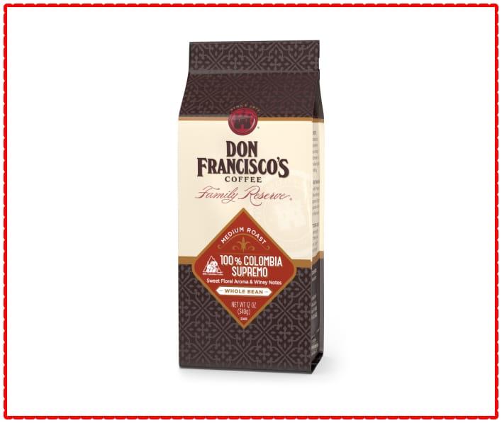 Don Francisco's Colombian Supremo Whole Bean Coffee