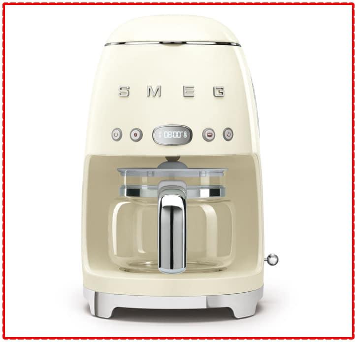 drip filter smeg coffee machine