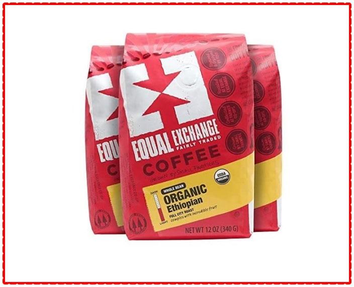 Equal Exchange's Ethiopian Organic Whole Bean Coffee