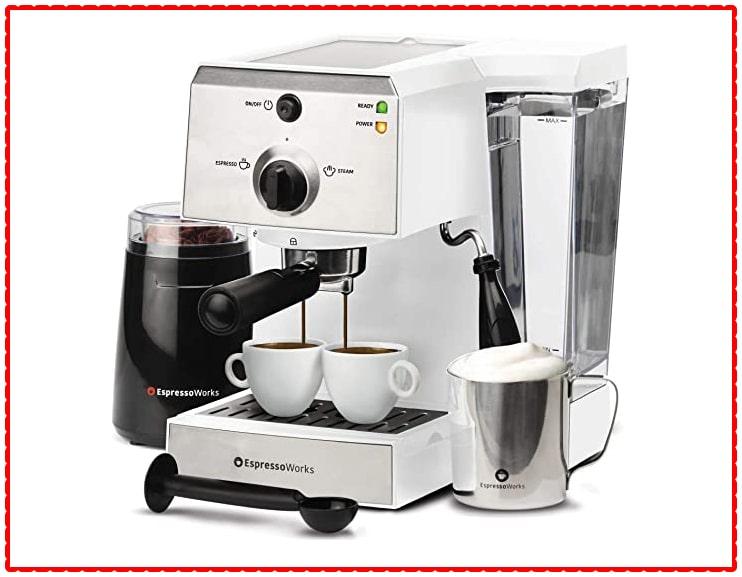 Espresso Machine & Cappuccino Maker