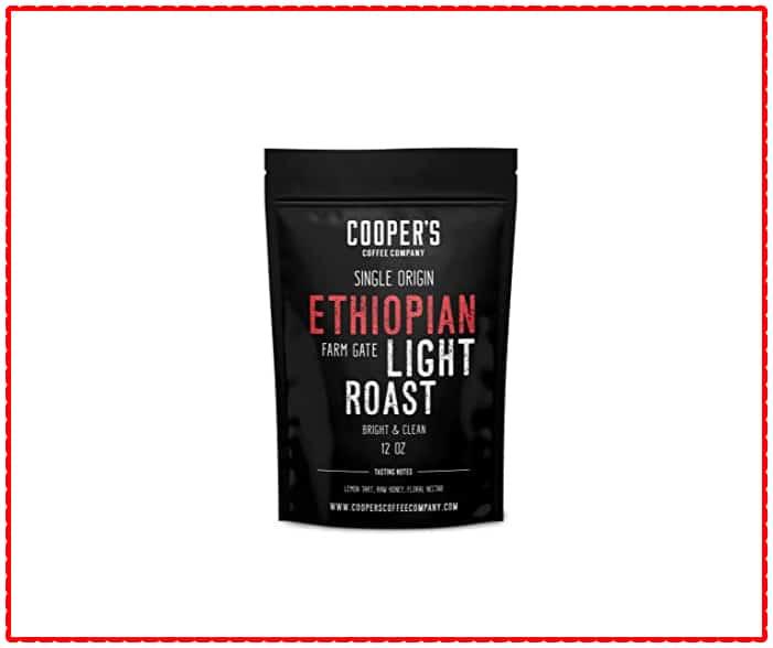 Cooper's Ethiopian Whole Bean Coffee