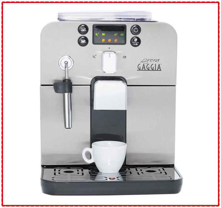 Gaggia Brera Super-Automatic Coffee Maker with Grinder