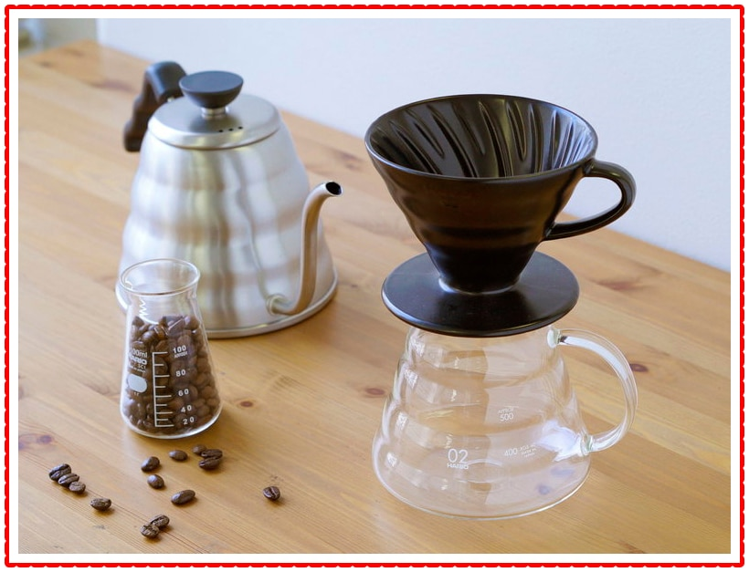 Hario Best Pour Over Coffee Maker