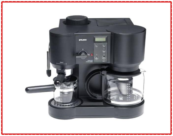 Krups 867-42 Il Caffe Bistro 10-Cup Coffee/4-Cup Espresso Maker