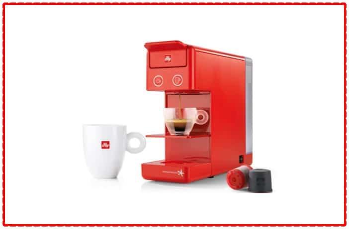 Illy Caffe Y1.1 216623 Touch Espresso Machine