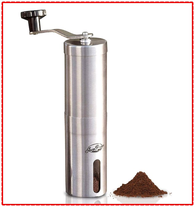 JavaPresse Manual Grinder - Best Coffee Grinder
