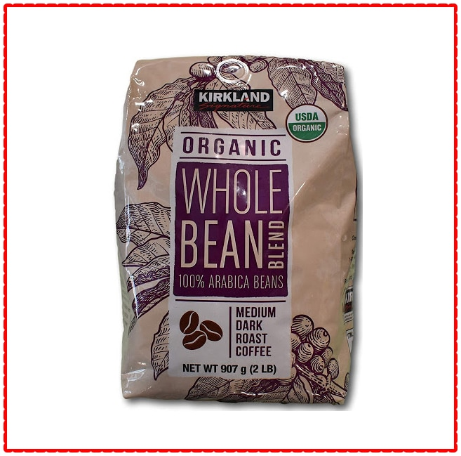 Kirkland Signature Organic Whole Bean Blend