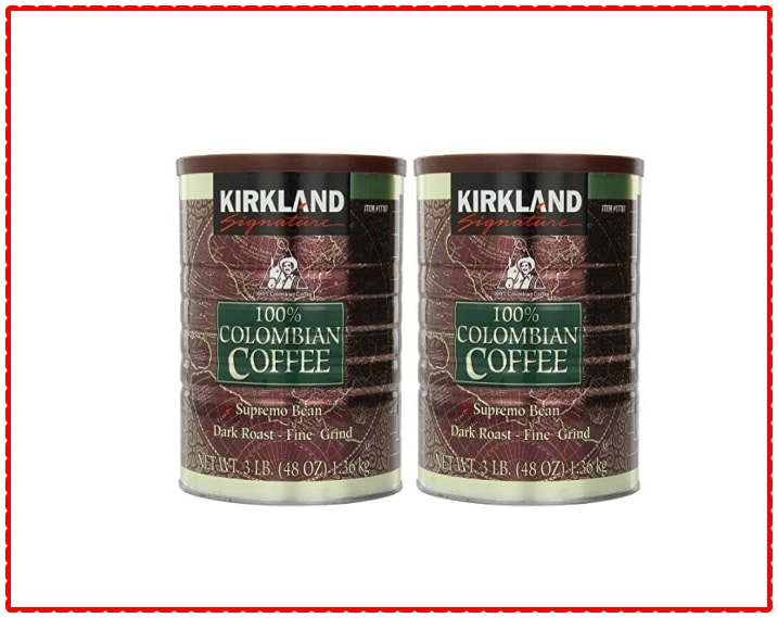Kirkland Signature Costco 100% Colombian Coffee Beans Supremo