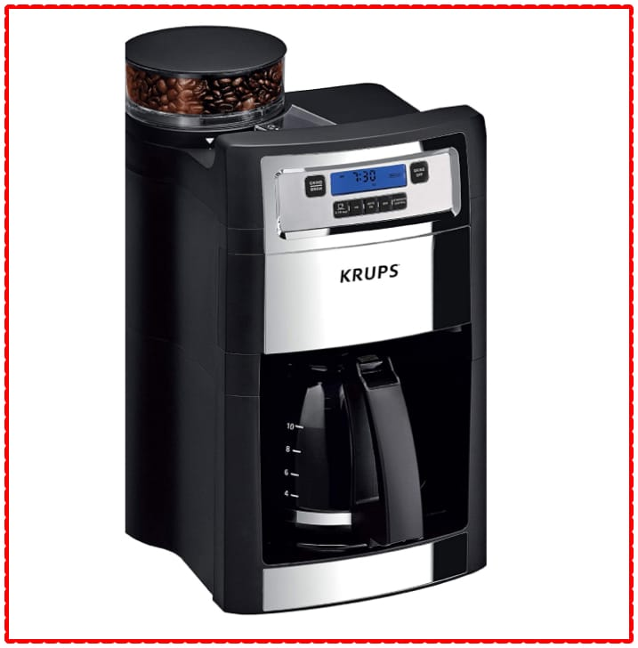 KRUPS Auto-Start Grind and Brew Coffee Maker