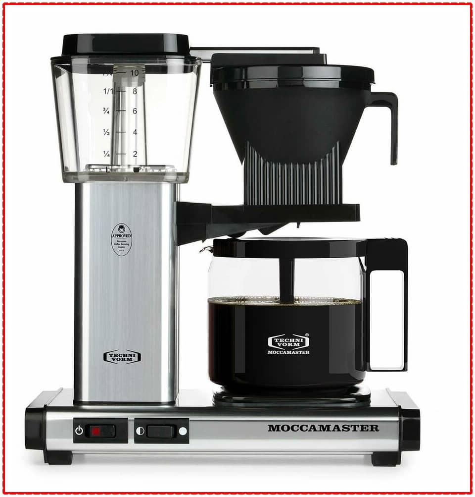 Technivorm Moccamaster 59616 KBG, 10-Cup Coffee Maker