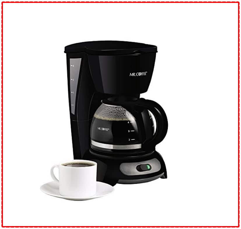 Mr Coffee DRX5 Programmable 4 Cup Coffee Maker