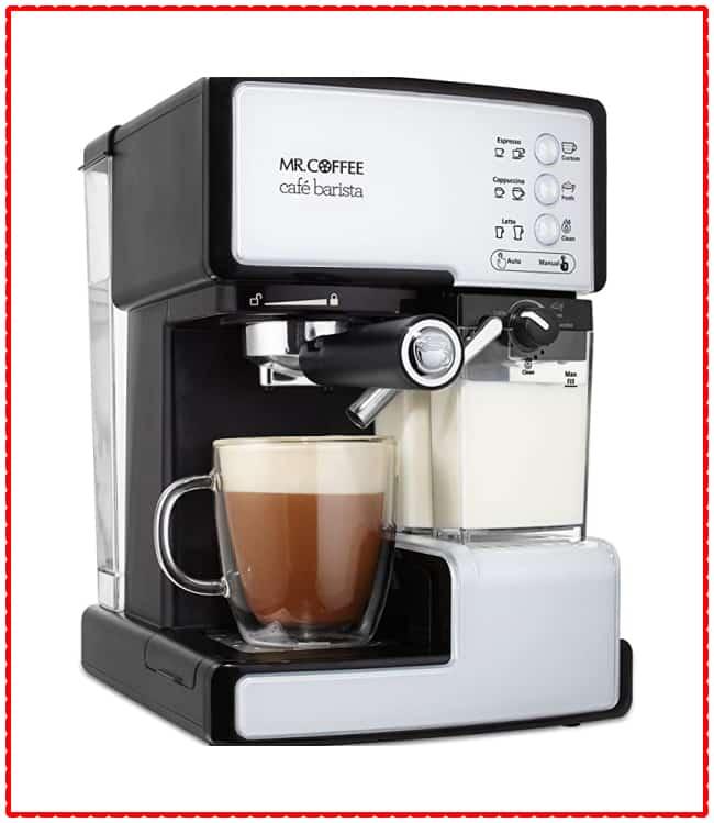 Mr. Coffee Café Barista Espresso Maker