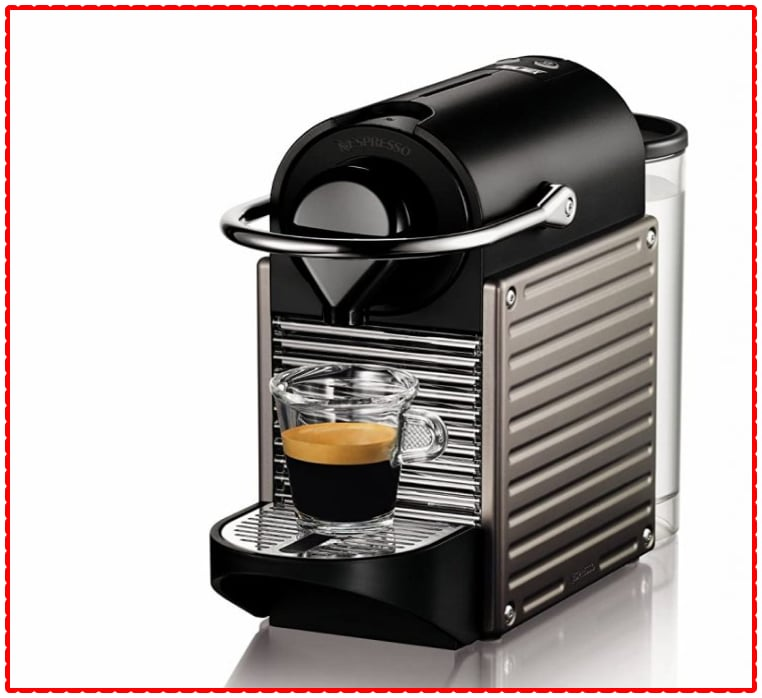 NESPRESSO PIXIE Single Serve Coffee Maker