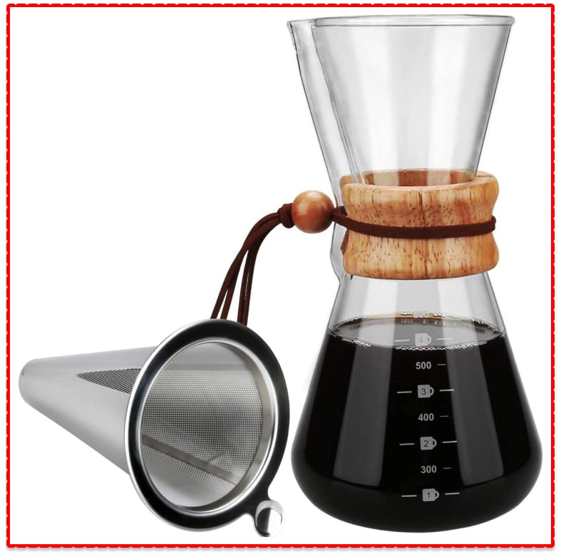 Pour Over Coffee Maker: OAMCEG