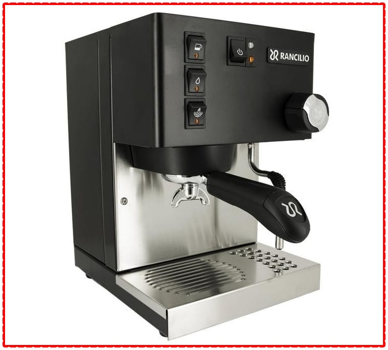 Rancilio Espresso Machine, 2020 release (black)
