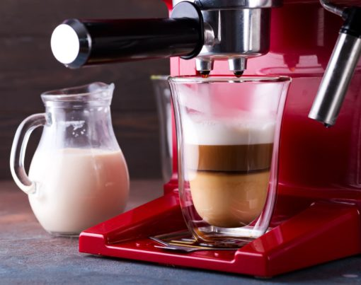 red-coffee-makers