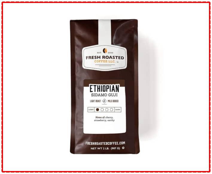 Fresh Roasted Ethiopian coffee beans