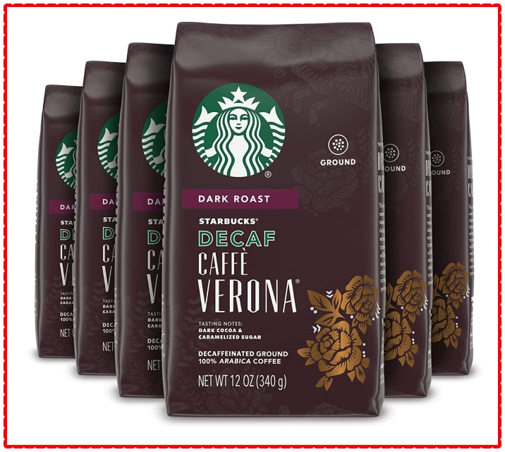 Starbucks Decaf Ground Coffee