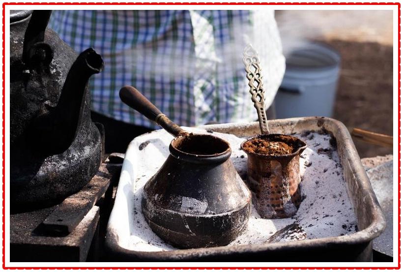 turkish coffee sand