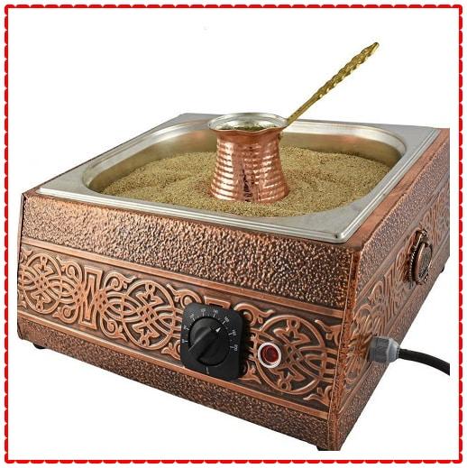 Turkish Sand Coffee, Copper Sand Brewer Machine, Turkish Coffee Machine