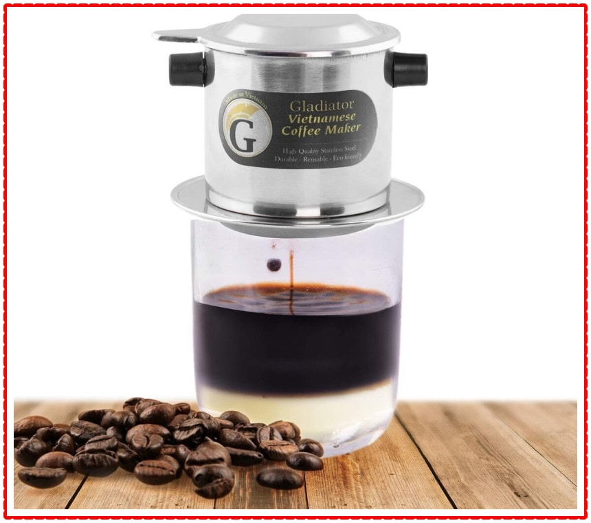 Small French Press Portable Vietnamese Coffee Maker